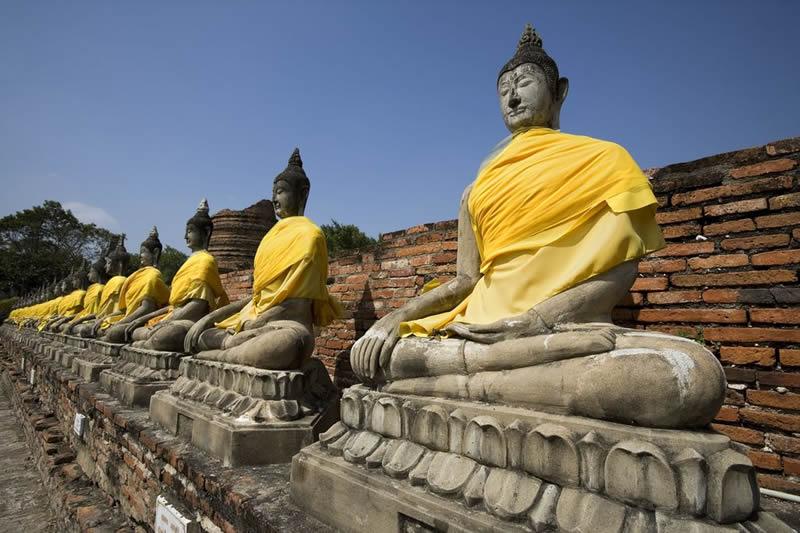 Thailand - Budda temple - Asia travel - Thai Buddha Statues