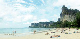 West Rai Leh? (Railay) beach of Rai Leh (Railay) bay in Krabi, Thailand