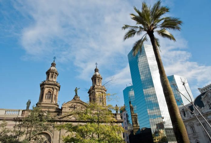 The Cathedral of Santiago - Chile - South America