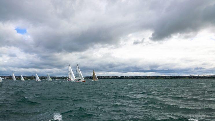 Royal Geelong Yacht Club - sailing - sailboat racing - Davidsons 2016 Winter Series - Race 3