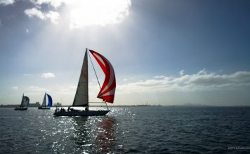 Sailboat Racing at Royal Geelong Yacht Club - Sailing Yacht Photography - Davidsons 2016 Winter Series - Race 5