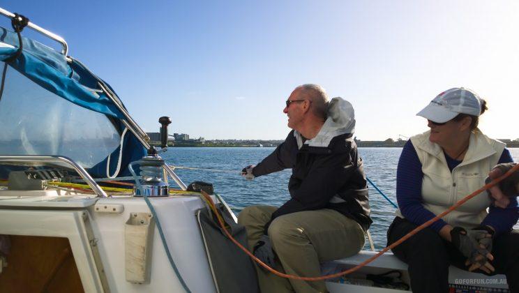Sailboat Racing at Royal Geelong Yacht Club - Sailing Yacht Photography - Davidsons 2016 Winter Series - Race 5