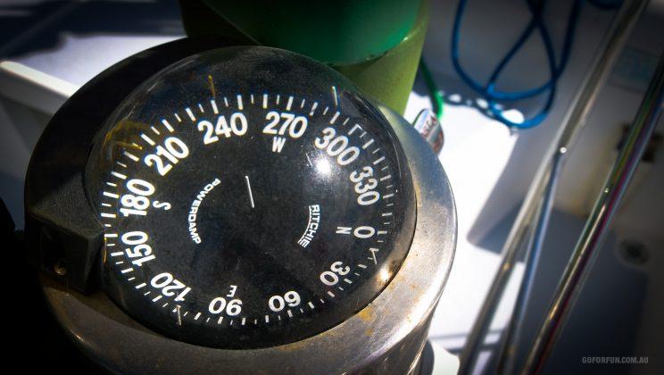 Compass - Sailboat Racing at Royal Geelong Yacht Club - Sailing Yacht Photography - Davidsons 2016 Winter Series - Corio Bay - Race 7