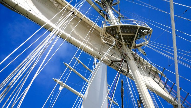 Tall Ship Tenacious - Jubilee Sailing Trust - Day Sail - Melbourne Victoria Australia - Port Philip Bay - Mixed crew sailing - Able and disabled people