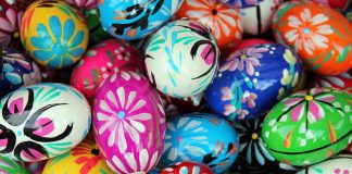 Easter celebration around the world - Easter eggs