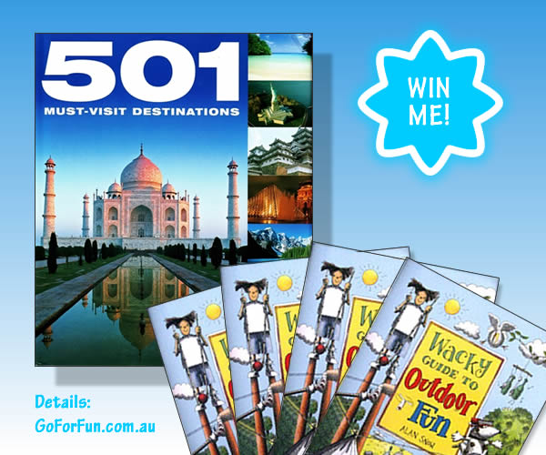 Giveaway - Travel book and fun activities books