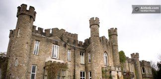 travel UK - unusual accommodation - Ancient British Castle
